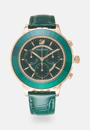 OCTEA LUX - Hodinky se stopkami - emerald