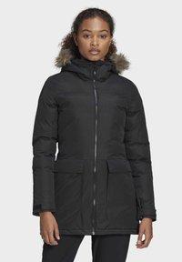 adidas Performance - XPLORIC PARKA - Winter coat - black - 0