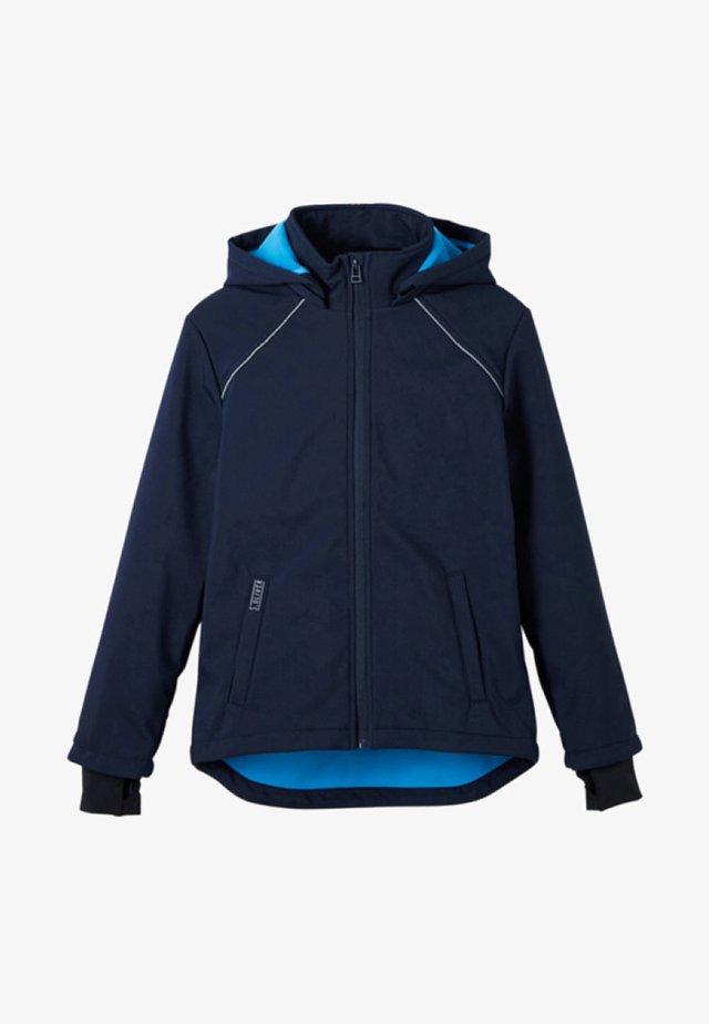 MIT KAPUZE - Jas - dark blue