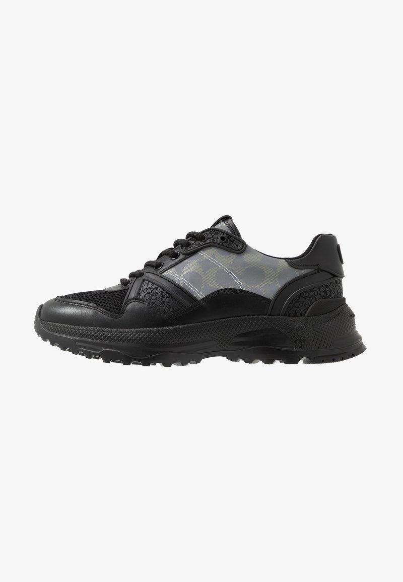 Coach - C143 REFLECTIVE SIGNATURE - Sneakers basse - black