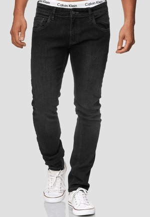 STRETCH - Slim fit jeans - black