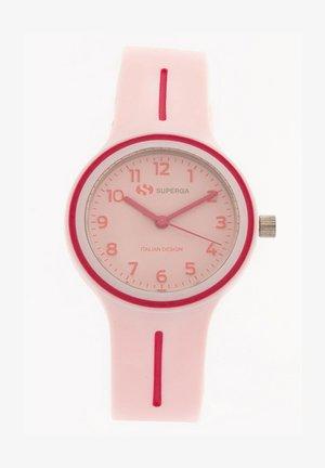 Hodinky - rosa chiaro/prugna