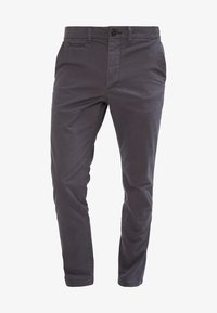 Jack & Jones - JJIMARCO JJENZO - Kangashousut - dark grey - 5