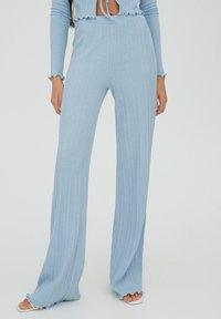 PULL&BEAR - Trousers - stone blue denim - 0