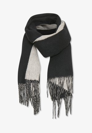 MYRTHEIW - Bufanda - black / powder beige