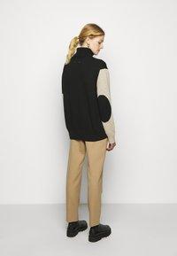 MM6 Maison Margiela - Pullover - black/beige - 2