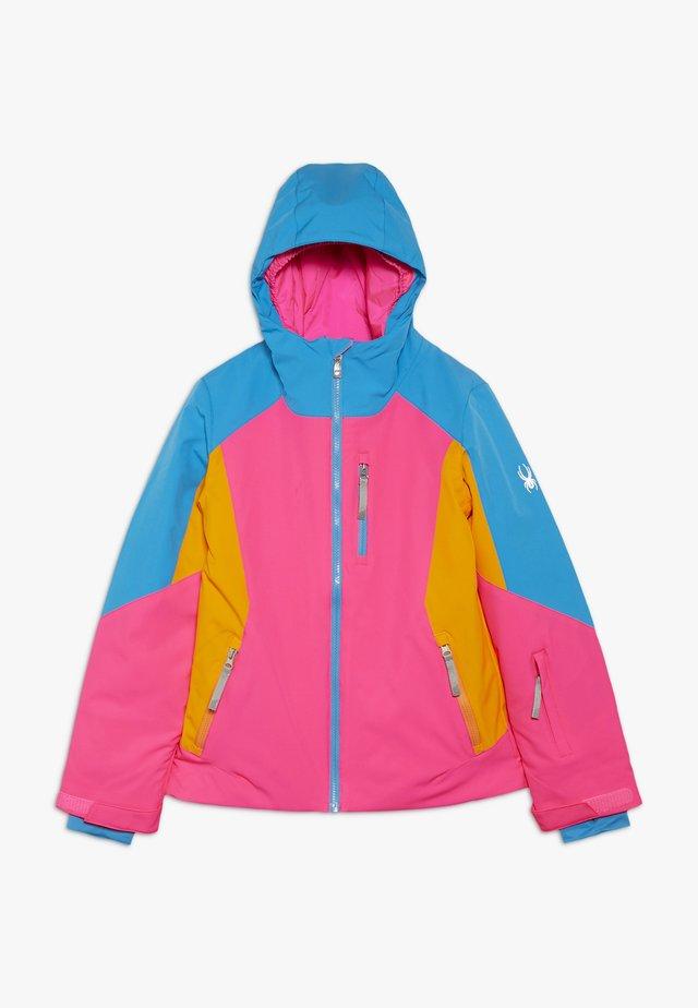 GIRLS PIONEER - Kurtka narciarska - bryte bubblegum
