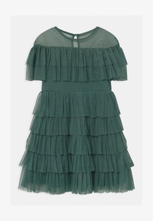 TIERED GATHERED  - Cocktailkleid/festliches Kleid - jade green