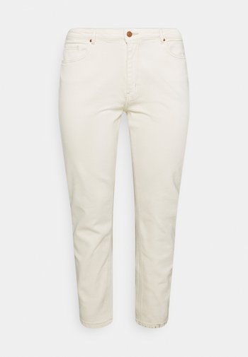 CARENEDA MOM - Relaxed fit jeans - ecru