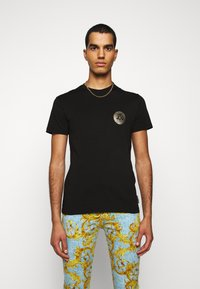Versace Jeans Couture - T-shirt con stampa - black - 0