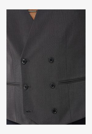 Double Breasted - Suit waistcoat - grey