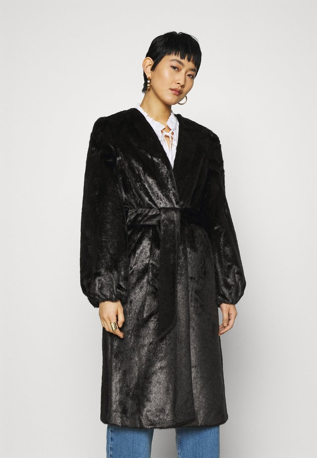 DAY JAGUAR SOLID - Classic coat - black