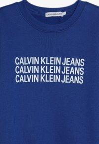 Calvin Klein Jeans - TRIPLE LOGO - Sweater - blue - 3