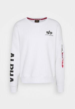 SLEEVE  - Sweatshirt - white