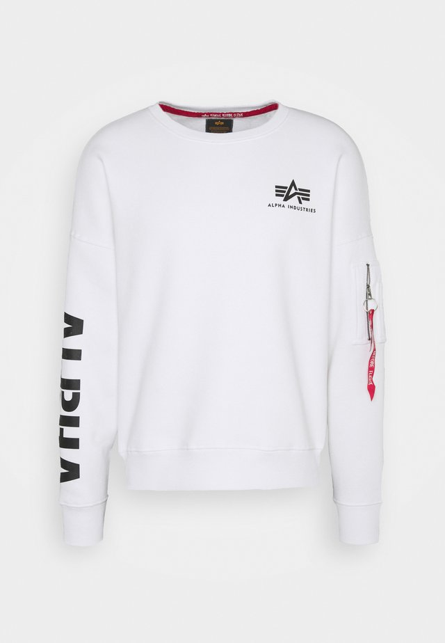 SLEEVE  - Sweatshirt - white