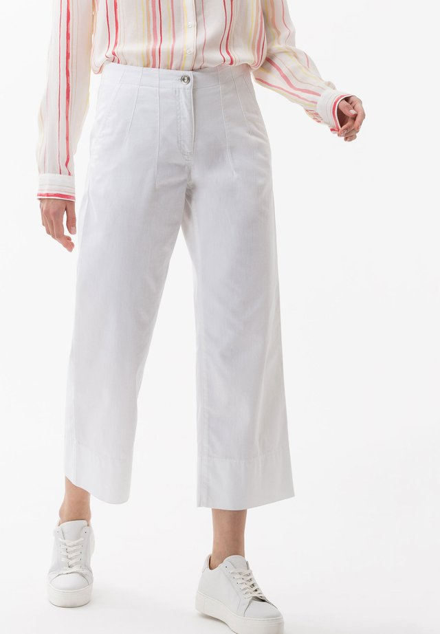 STYLE MAINE - Flared jeans - white