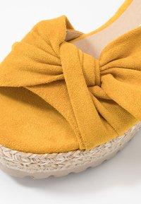 Refresh - Sandały na platformie - panama - 2