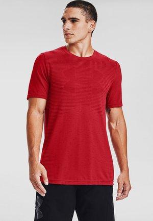 Print T-shirt - versa red