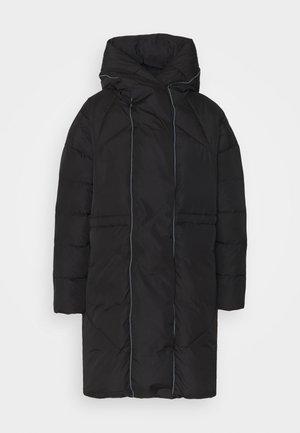 VICAMISA COAT - Abrigo de plumas - black