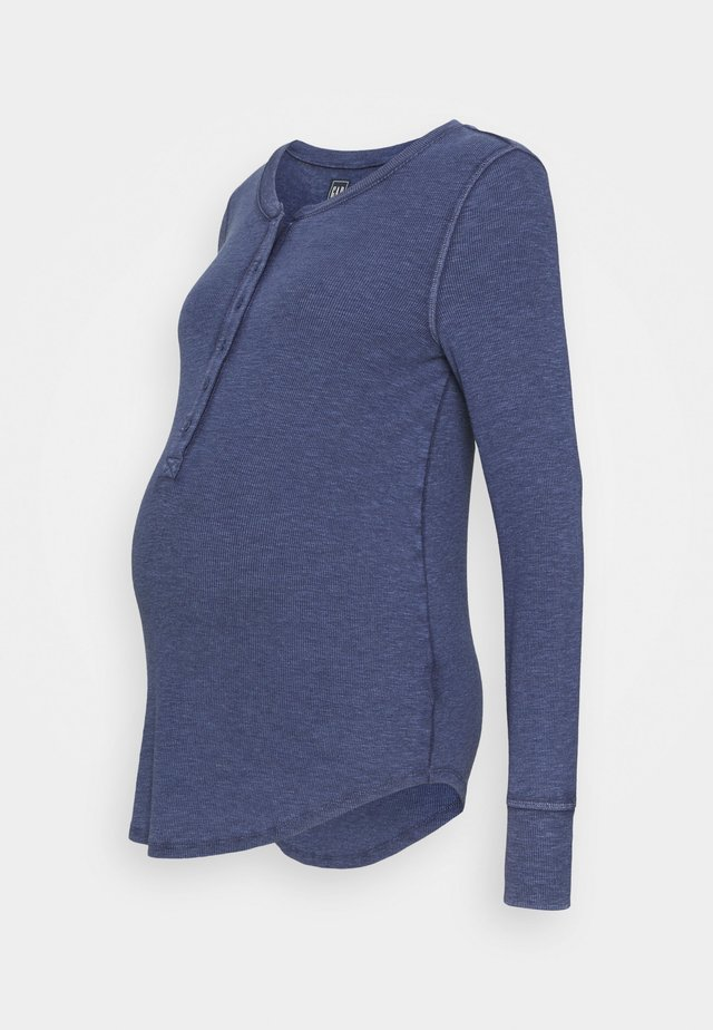 RELAX - Long sleeved top - elysian blue