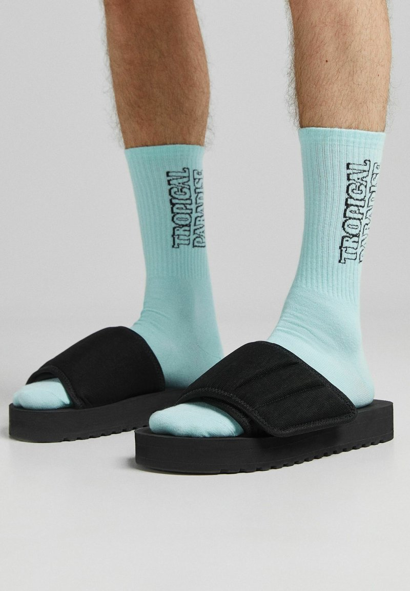 Bershka - 3 PACK - Ponožky - yellow
