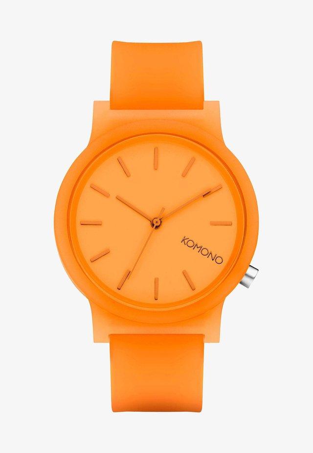 Watch - neon orange