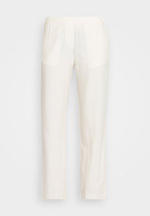 HOYS STRAIGHT PANTS - Trousers - warm white