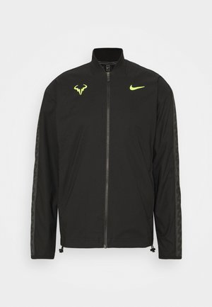 RAFAEL NADAL JACKET - Training jacket - black/volt