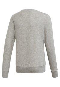 adidas Performance - LINEAR SWEATSHIRT - Sweater - grey - 1