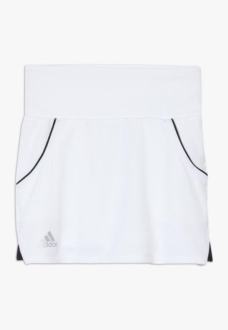 adidas Performance - CLUB SKIRT - Sportovní sukně - white/silver/black
