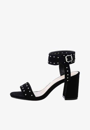 ZERBO  - Sandalen met enkelbandjes - black