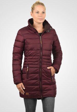 STEPPMANTEL CARLOTTA - Cappotto invernale - zinfandel