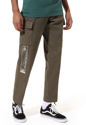 MN SERVICE - Cargo trousers - grape leaf