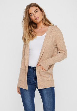 Cardigan - tobacco brown