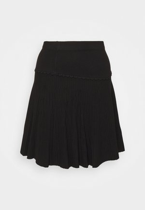 CLAUDETTE FANCY SKIRT - Áčková sukně - black