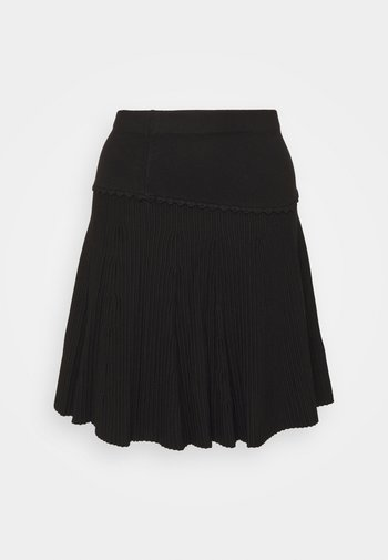 CLAUDETTE FANCY SKIRT - A-line skirt - black