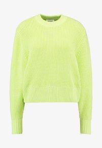 AGATA BASIC - Jumper - light green