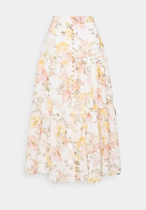 RAINA TIERED MIDI SKIRT - Maksihame - vintage splendor