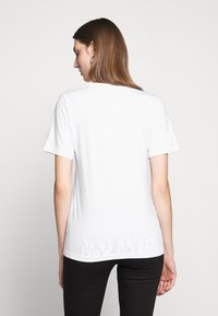 MM6 Maison Margiela - SHORT SLEEVES - Triko s potiskem - white - 2