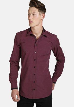 TIMEFORWINE - Shirt - dark red