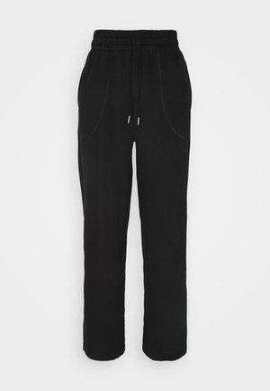 HER WIDE PANTS - Trainingsbroek - puma black