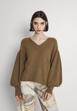 OBJWYTHE - Džemperis - brown