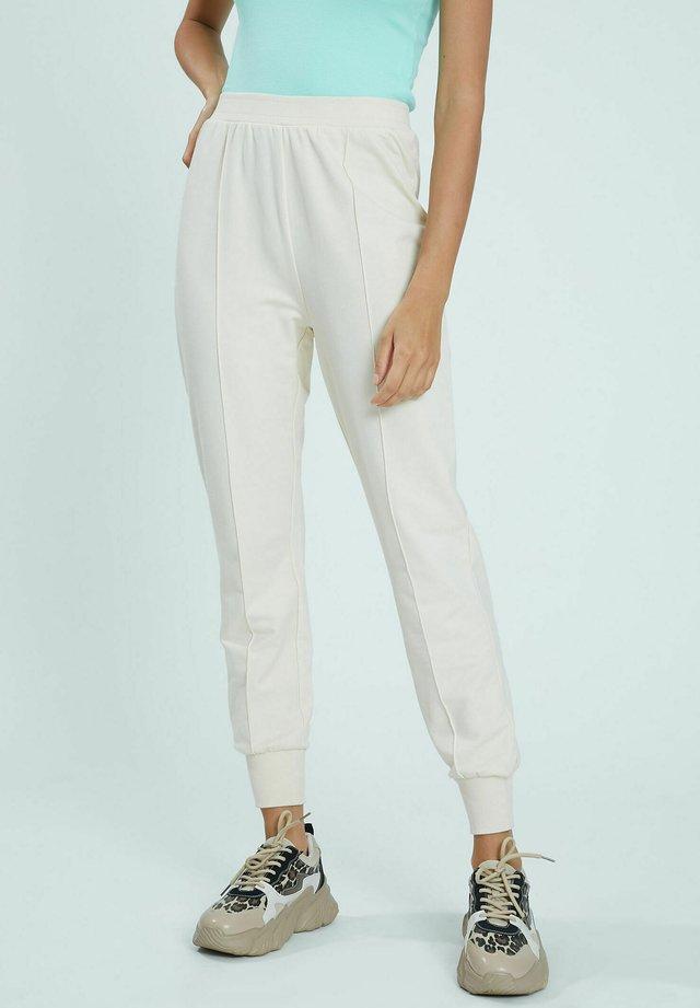 Spodnie treningowe - weiß