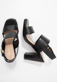 ALDO - FIELIA - Sandaler med høye hæler - black - 3