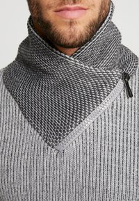 INDICODE JEANS - DANE - Strickpullover - light grey - 6
