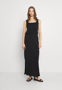 Vero Moda - VMADAREBECCA ANKLE DRESS - Maxi dress - black - 0