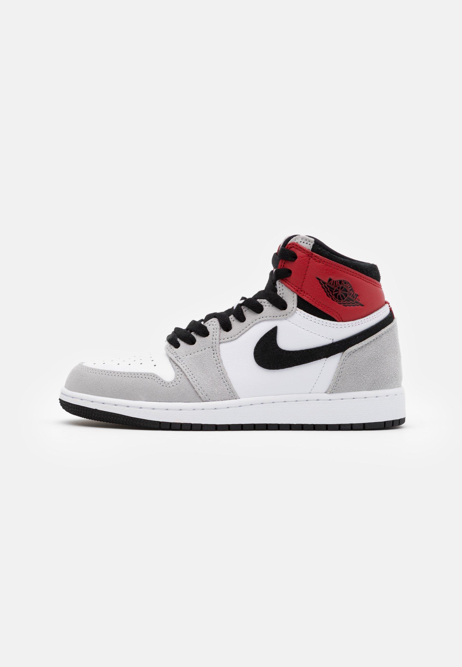 Jordan AIR JORDAN 1 BLOODLINE - Basketball shoes - grey/red ...