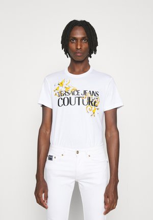 MOUSE - Print T-shirt - bianco