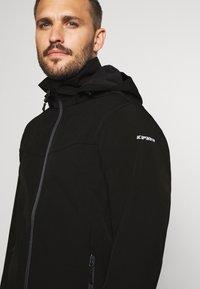 Icepeak - BIGGS - Soft shell jacket - black - 5