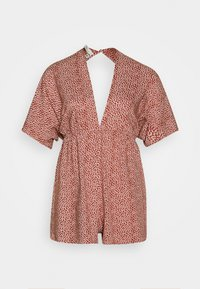 Nly by Nelly - FRONT KNOT  - Jumpsuit - orange - 0